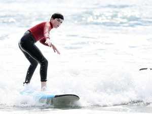 Robbie Sherwell's learn to surf at Alexandra Headland