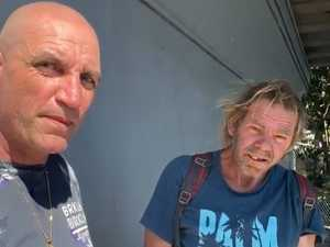 Homeless man says his belongings were dumped
