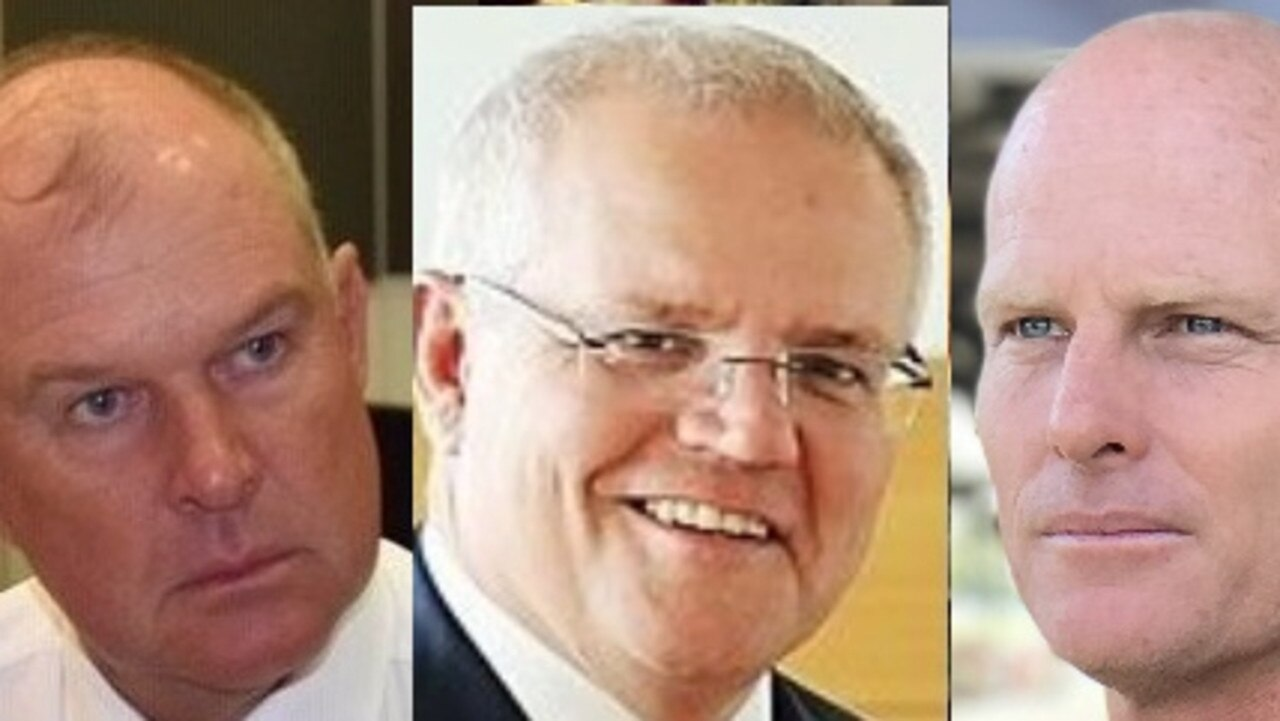 Gympie's MP Tony Perrett and Mayor Glen Hartwig (left and right) have unveiled their wish list for this year's Federal Budget being delivered by Scott Morrison's cabinet.