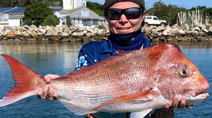 GONE FISHIN': Big bream still on the bite
