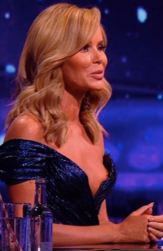 Amanda Holden's dress sparked hundreds of complaints.