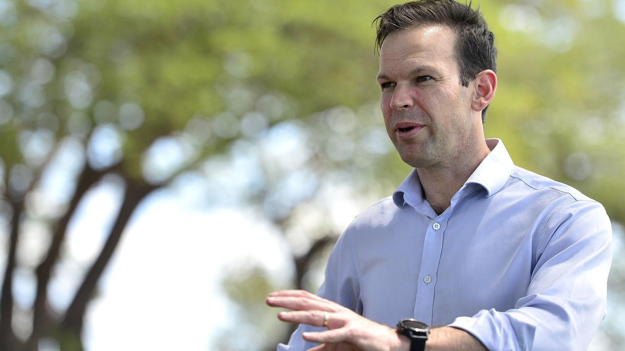 Nationals Senator Matt Canavan has labelled people from NSW 'Mexicans'. Picture: Matt Taylor