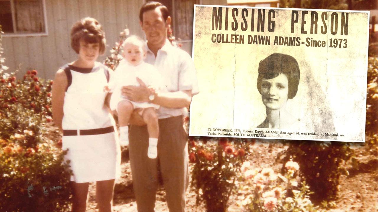 Colleen Adams' daughter felt unlovable because of her dad's lies about her mother's disappearance after he killed her. Today Colleen's family stared him down.