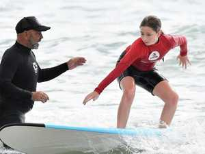 GALLERY: Learners stand up as surf school pumps