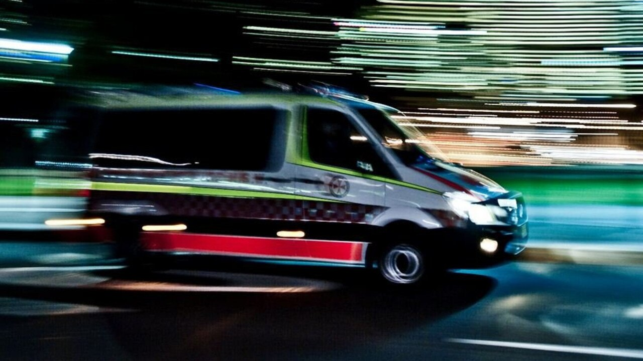 A male patient was taken to Gympie Hospital following a single-vehicle rollover on the Old Bruce Highway.