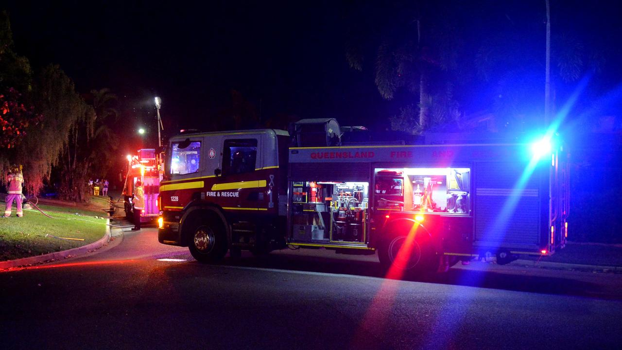 Emergency services are tending to a house fire at North Rockhampton. PICTURE: File photo