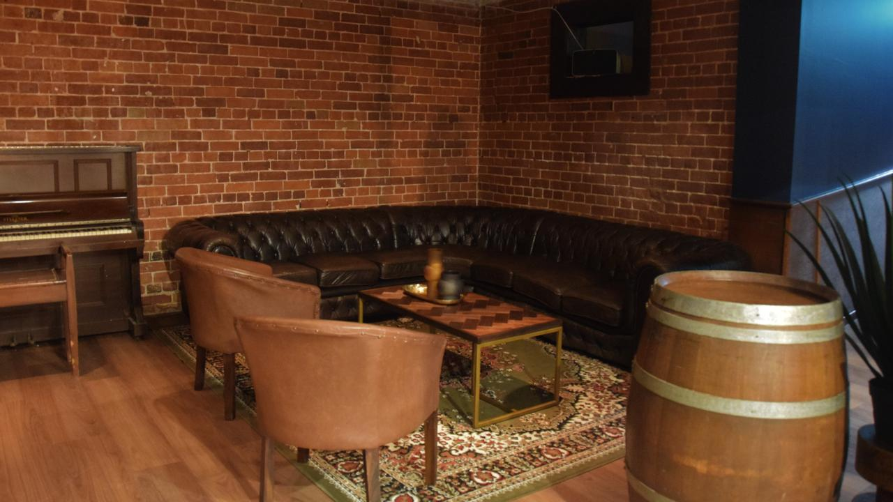 The new Speakeasy bar at The Goat Cafe and Bar is perfect for intimate and private events.