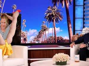 Ellen loses it over Amy Schumer's F-bomb