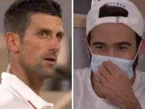 Heckling Federer fan goes viral