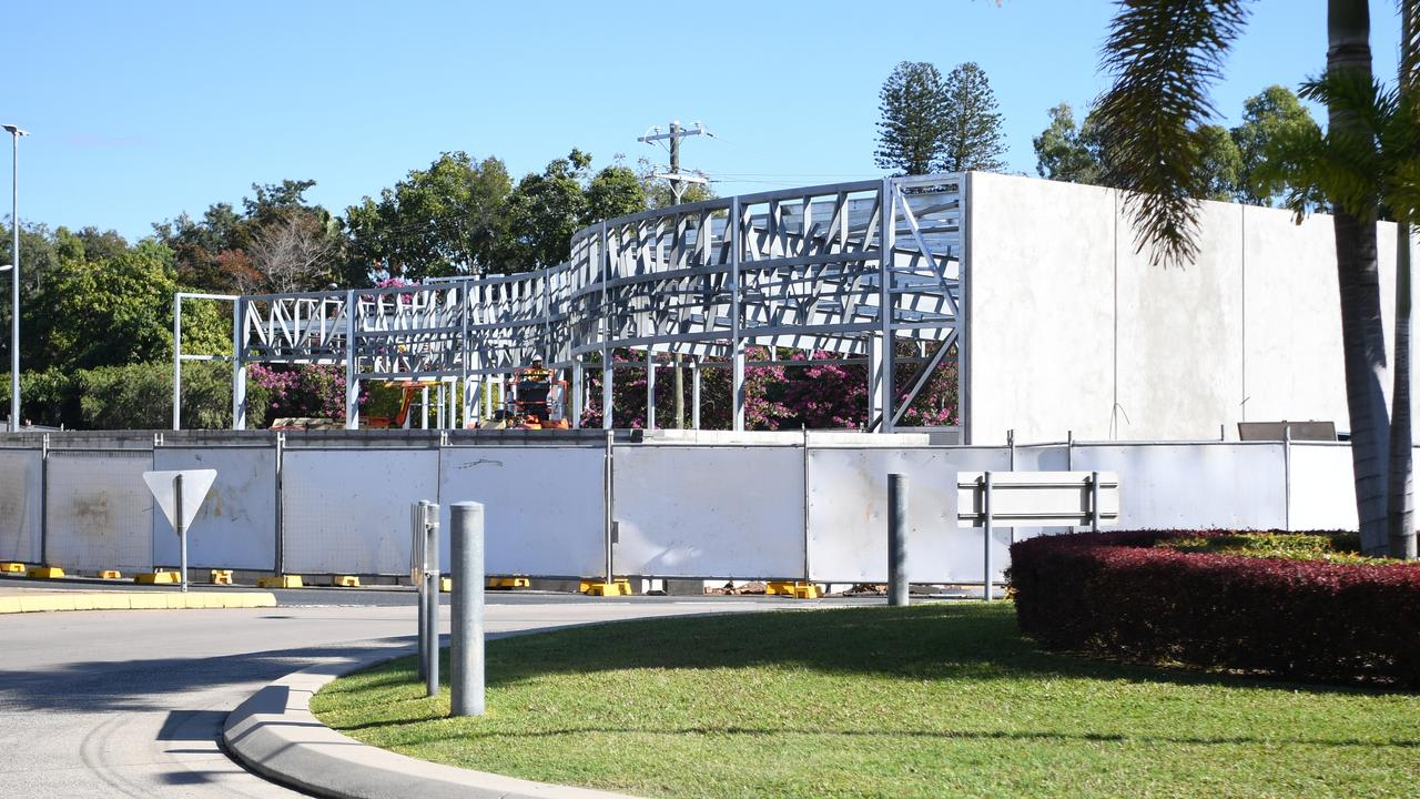 The Bavarian is currently under construction at the old Sizzlers site at Stockland Rockhampton