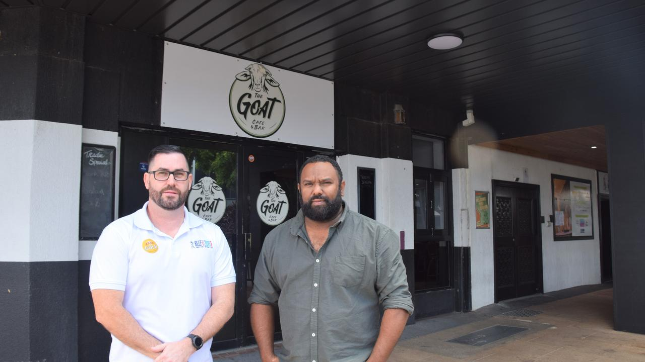 Jamie Boon and Jeremy Marou are new co-owners of The Goat Cafe and Bar.