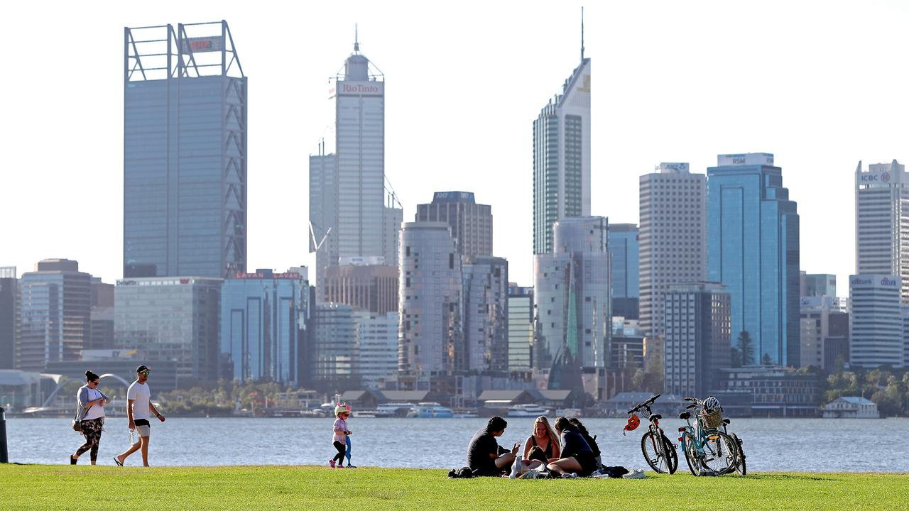 Perth residents enjoy a lot of freedom at the moment but this may make them susceptible to a severe coronavirus outbreak. Picture: Richard Wainwright/AAP