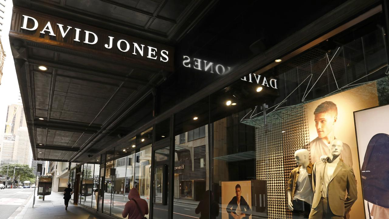 The store's retail workers are selling David Jones American Express credit cards to customers at the point of sale. Picture: NCA NewsWire/Damian Shaw