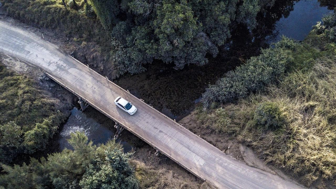 The Running Creek Bridge is about 17km northwest of Woolooga. Photo: Denise Keelan
