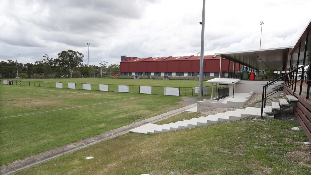 The Logan Lightning FC grounds at Shailer Park. Picture: Annette Dew