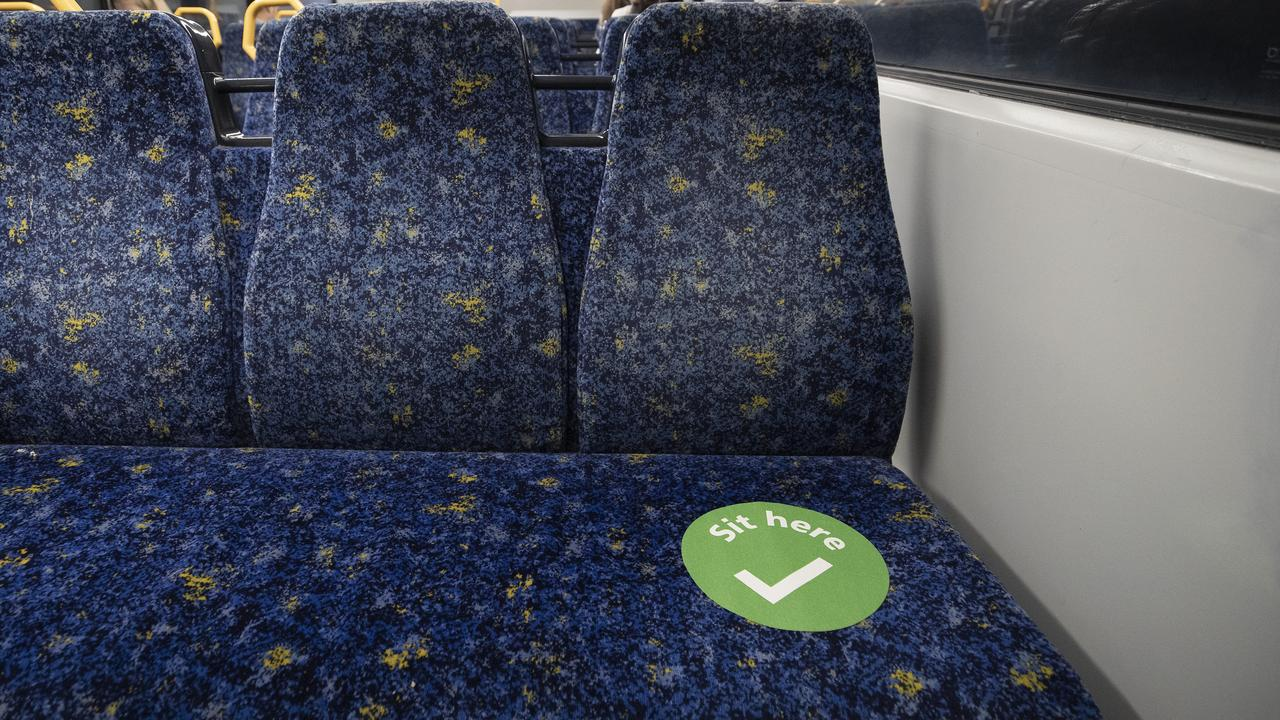Unions says planning is required to allow people to social distance on public transport. Picture: Ryan Pierse/Getty Images