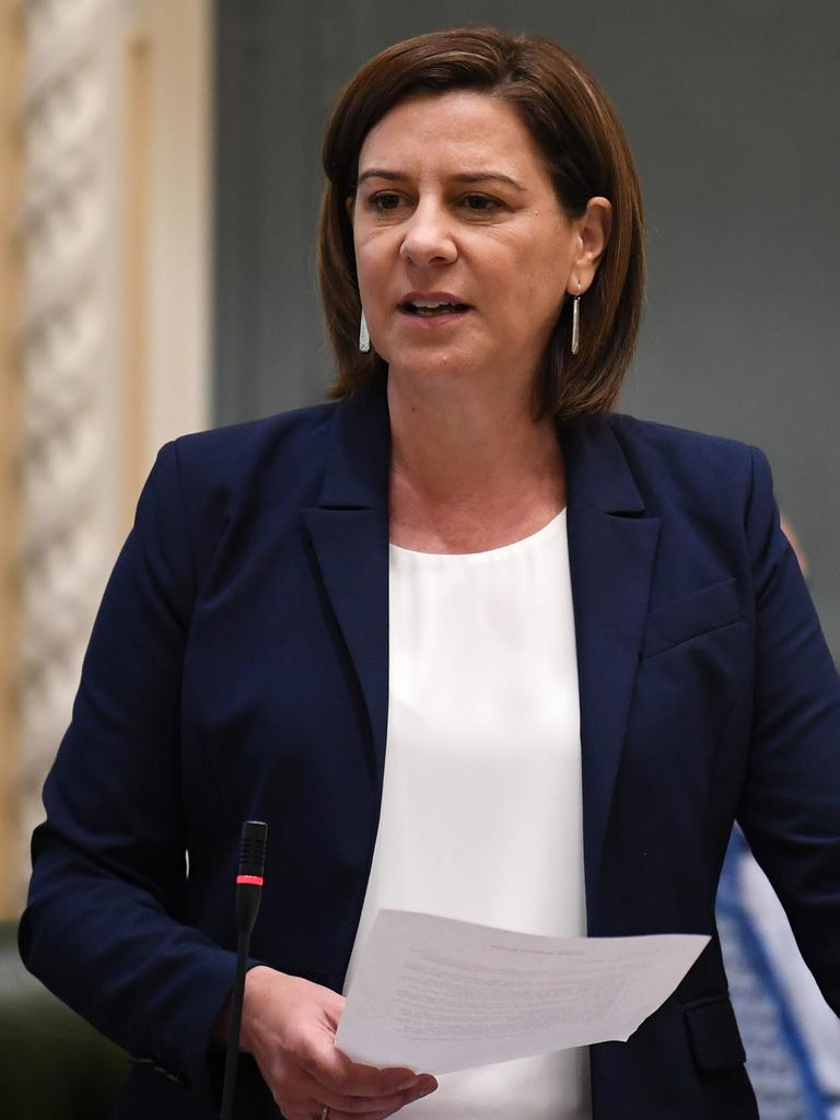 LNP Leader Deb Frecklington. Photo: NCA NewsWire / Dan Peled