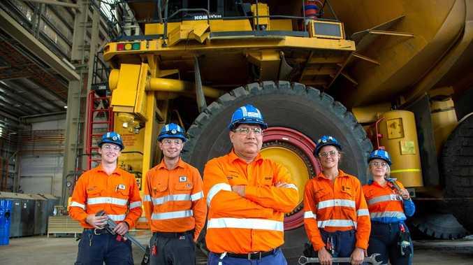 1025 BHP apprentice, traineeship spots available in CQ