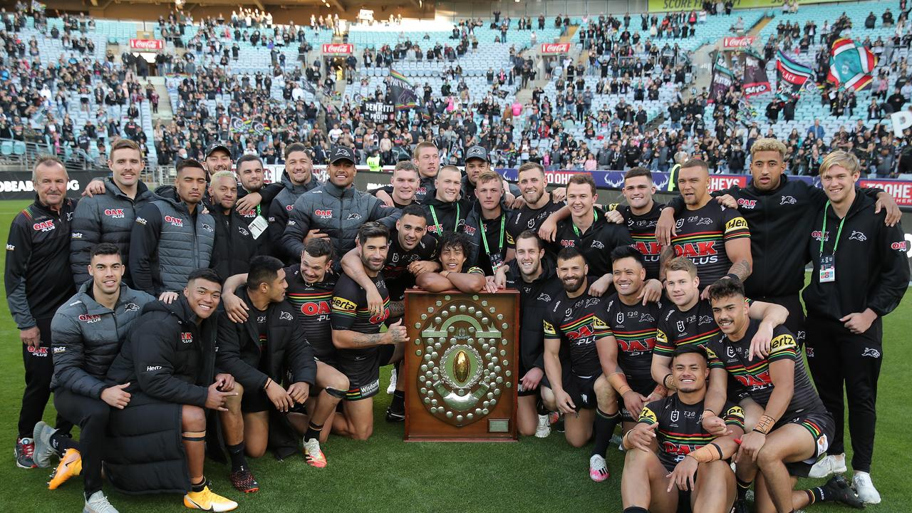 The Panthers are the grand final favourites.