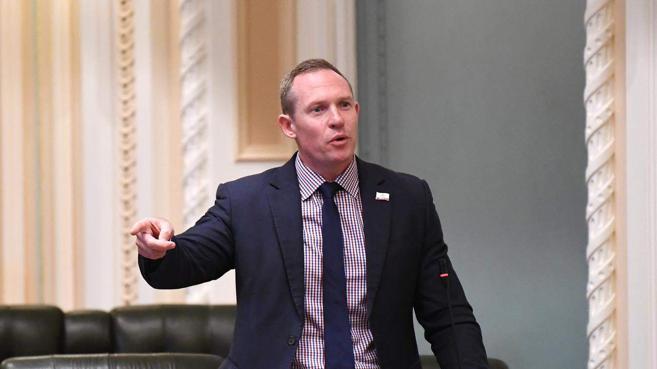 Minister Sport Mick de Brenni is accused of pork-barrelling over the redistribution of sporting grants in the state. Photo: NCA NewsWire / Dan Peled