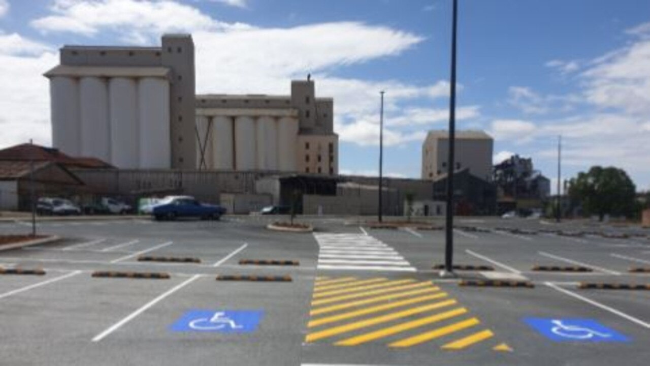 The Alford Street car park is officially open to the public. (Picture: Contributed)