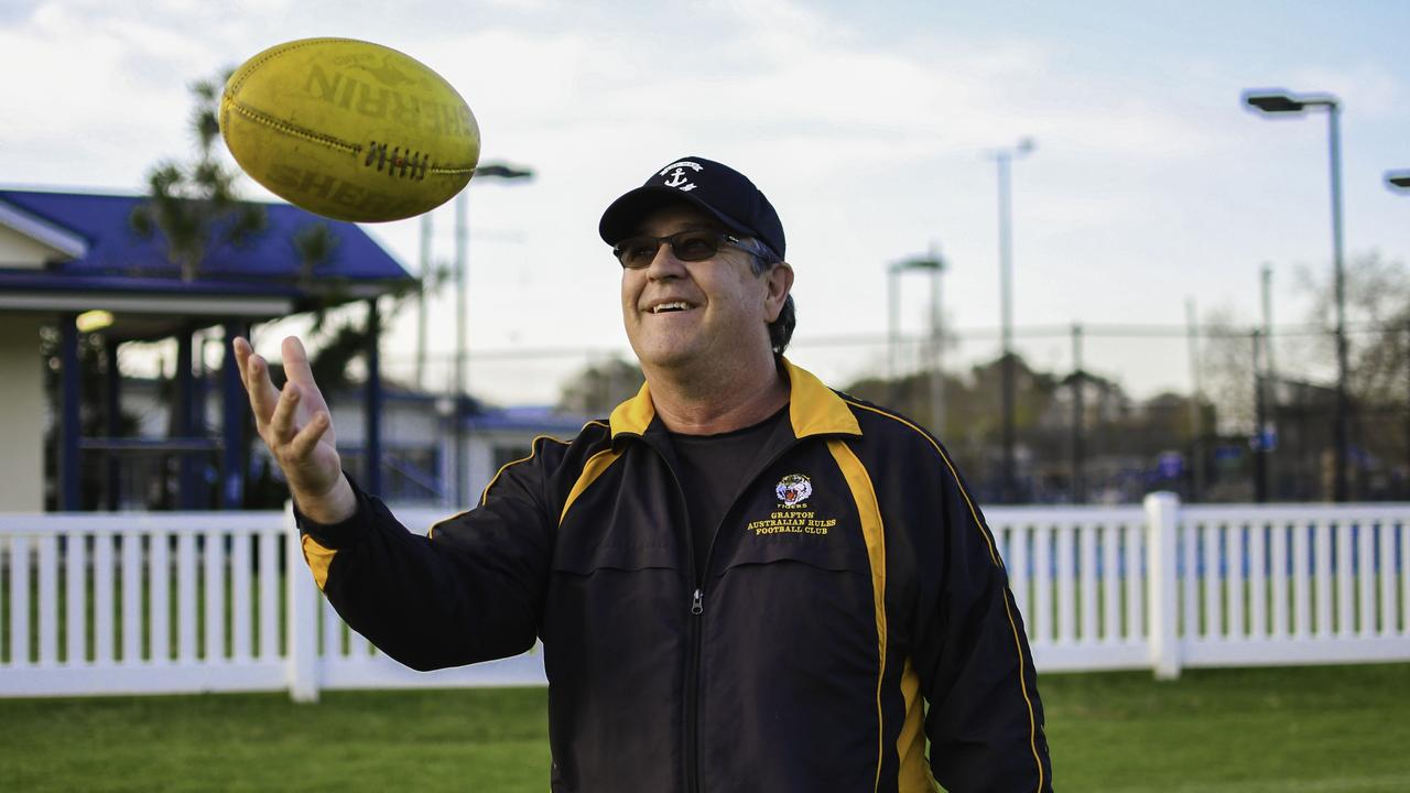 EYE ON THE PRIZE: Grafton Tigers' coach Adi Campbell has been a revelation this season taking the side from cellar-dwellers to genuine title contenders in the North Coast AFL competition