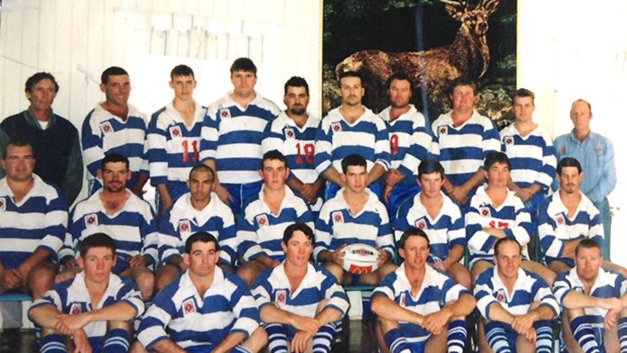 Nanango Stags 2000 premiership winning side.