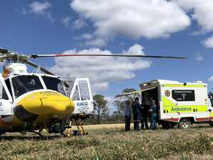 Patient suffers severe leg injuries in quad bike accident
