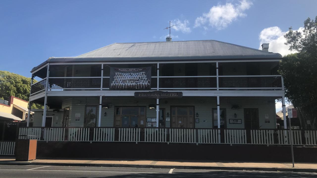 The Federal Hotel in Main St, Alstonville.