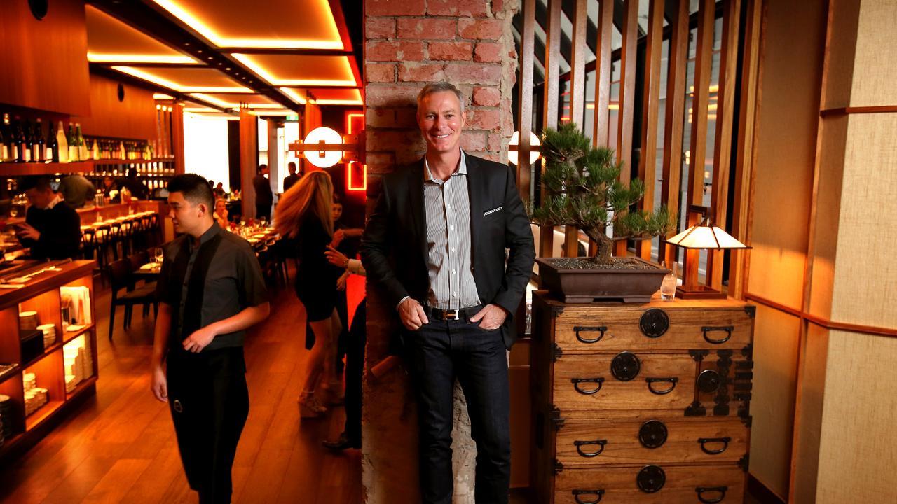 Thomas Pash of Rockpool Dining Group.
