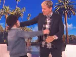 Young Aussie's Ellen TV encounter