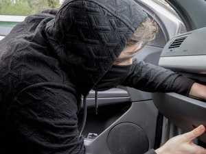Four men attempt vehicle break-ins at CBD