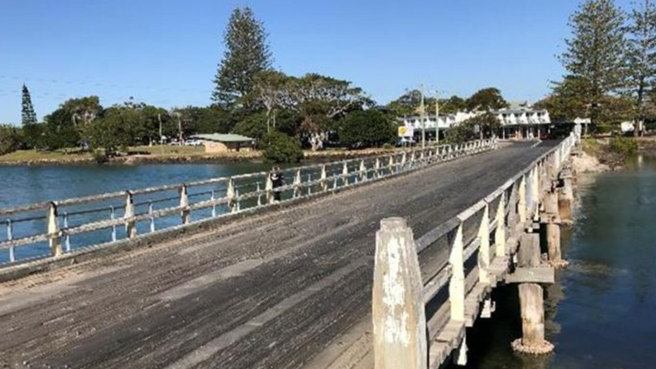 Brunswick Heads' iconic South Arm Bridge has been undergoing major work.