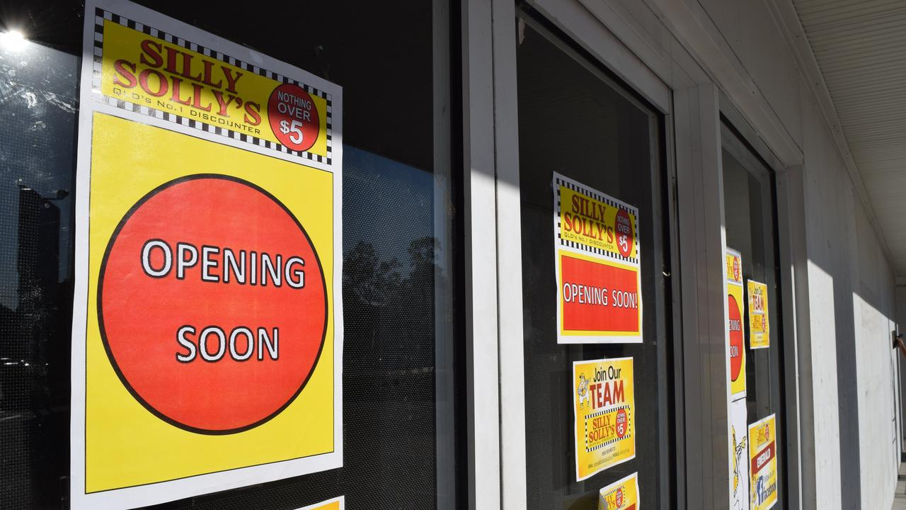 A Silly Solly's store is hoping to open by the end of October.