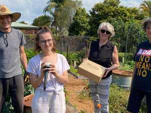 Locals go full Monty to prevent food waste