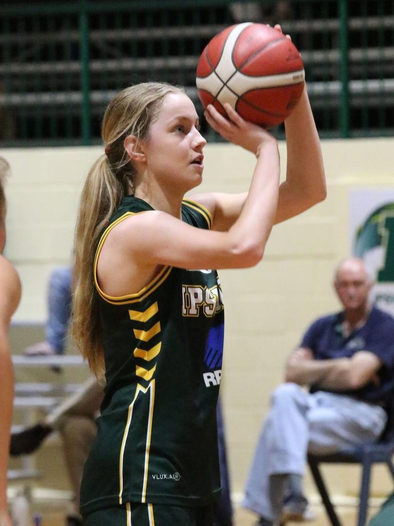 Ipswich Force basketballer Catherine Macgregor. Picture: Megan Low