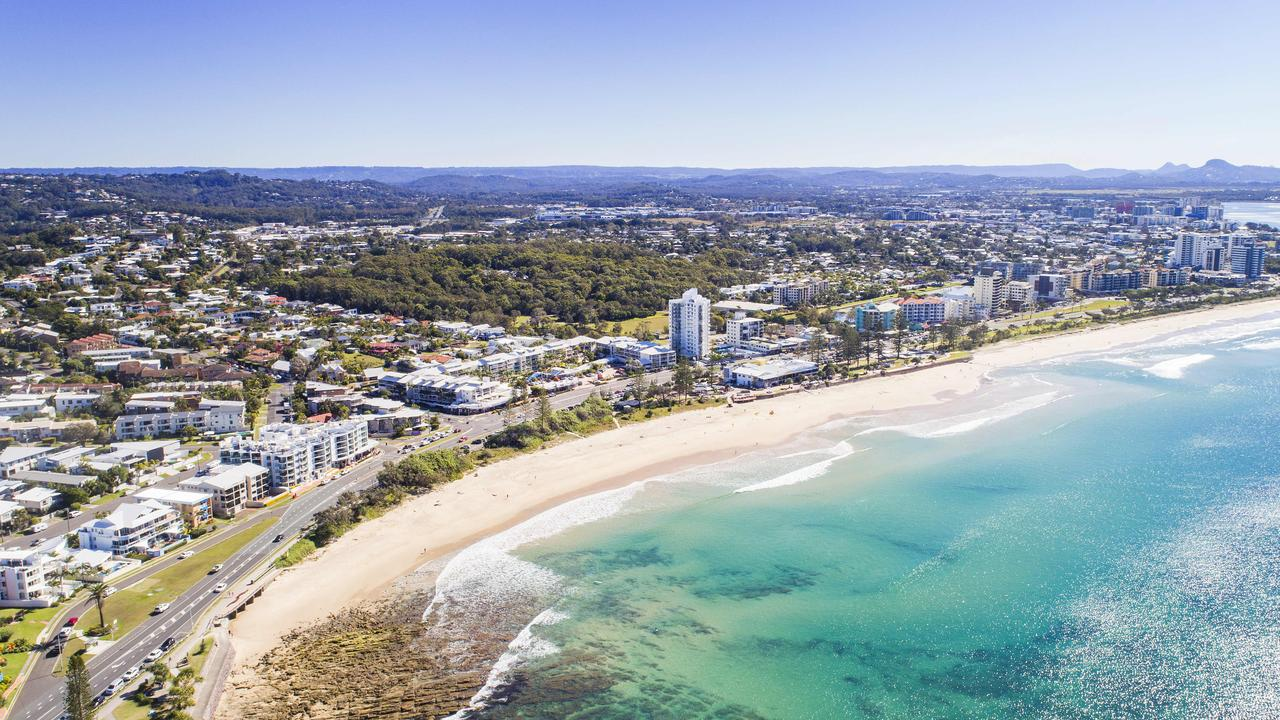 The Sunshine Coast has outpaced Brisbane and Gold Coast property markets from an influx of sea-changers to the region bolsters house prices. Picture: Lachie Millard