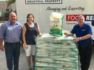 NICE RICE: Farmer's incredible donation