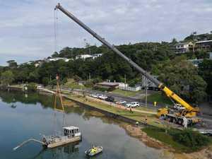 Can you still swim at Shaws Bay during dredging work?