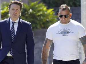 Magistrate sides with ex bikie over border form