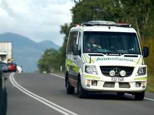 Trucks collide on Warrego Hwy, woman taken to hospital