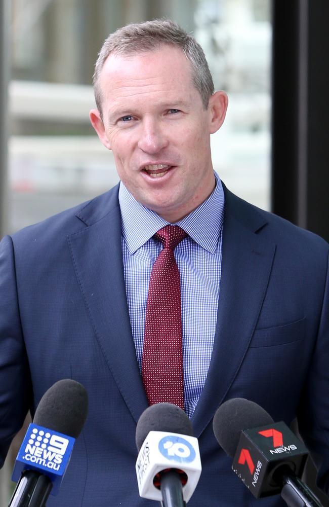 Sports Minister Mick de Brenni. Picture: Steve Pohlner