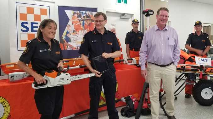 $44K arsenal upgrade for Rockhampton SES Unit
