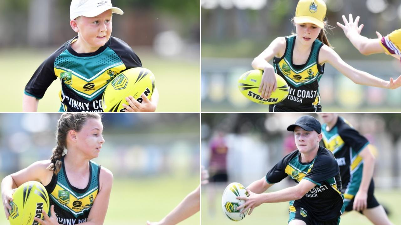 A bevy of Sunshine Coast Pineapples players were out in force on the opening day of the National Youth Championships at Sunshine Coast Stadium on Thursday. Picture: Patrick Woods