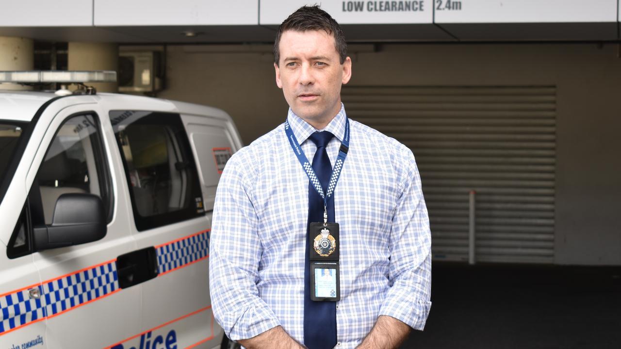 Det Act Snr Sgt Kevin Mawdsley of Rockhampton Police