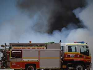 Eight fire crews battling 10 acre Nanango vegetation fire