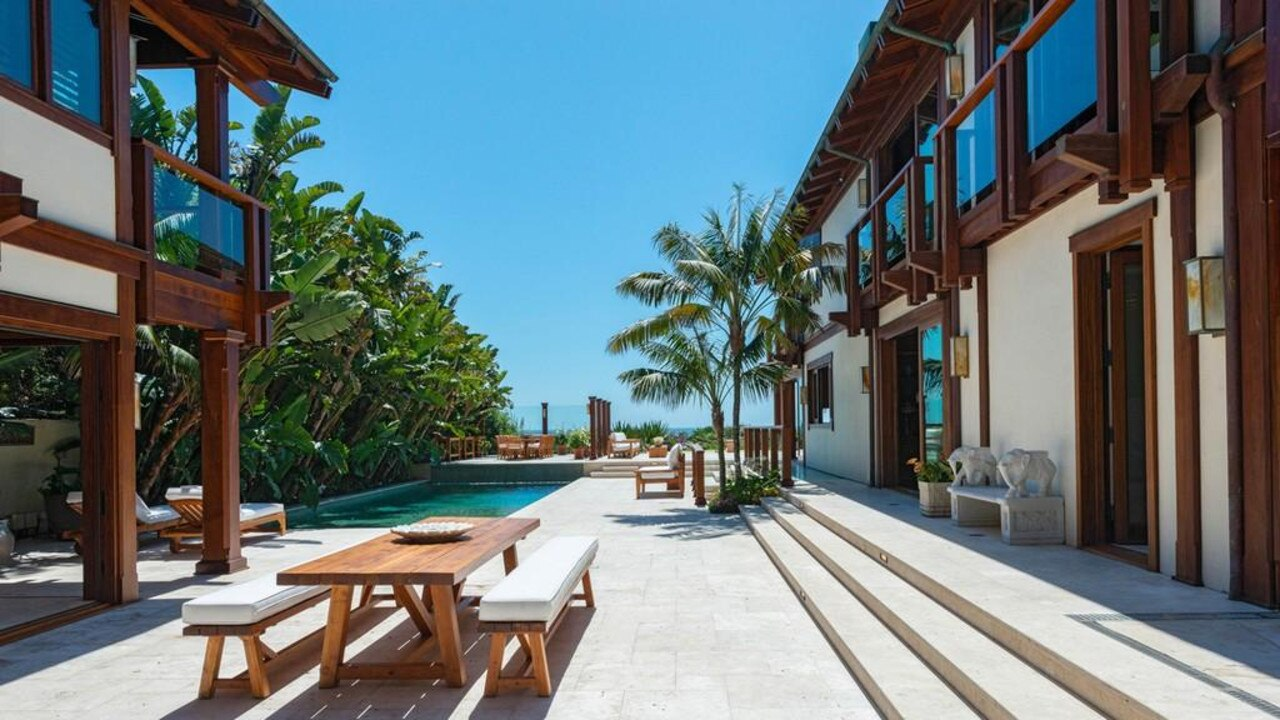 The outdoor and pool area. Picture: Realtor