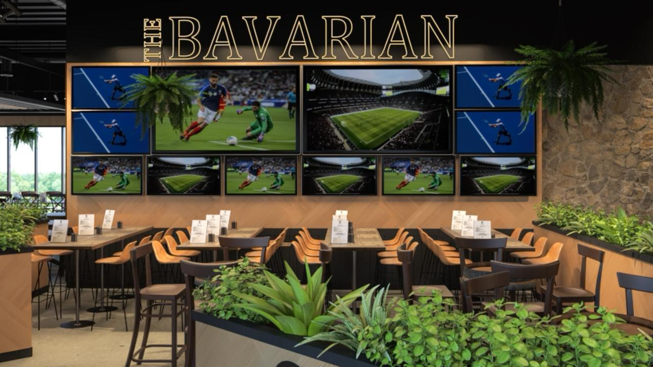 3D renders of The Bavarian, Rockhampton, planned to open in November 2020.