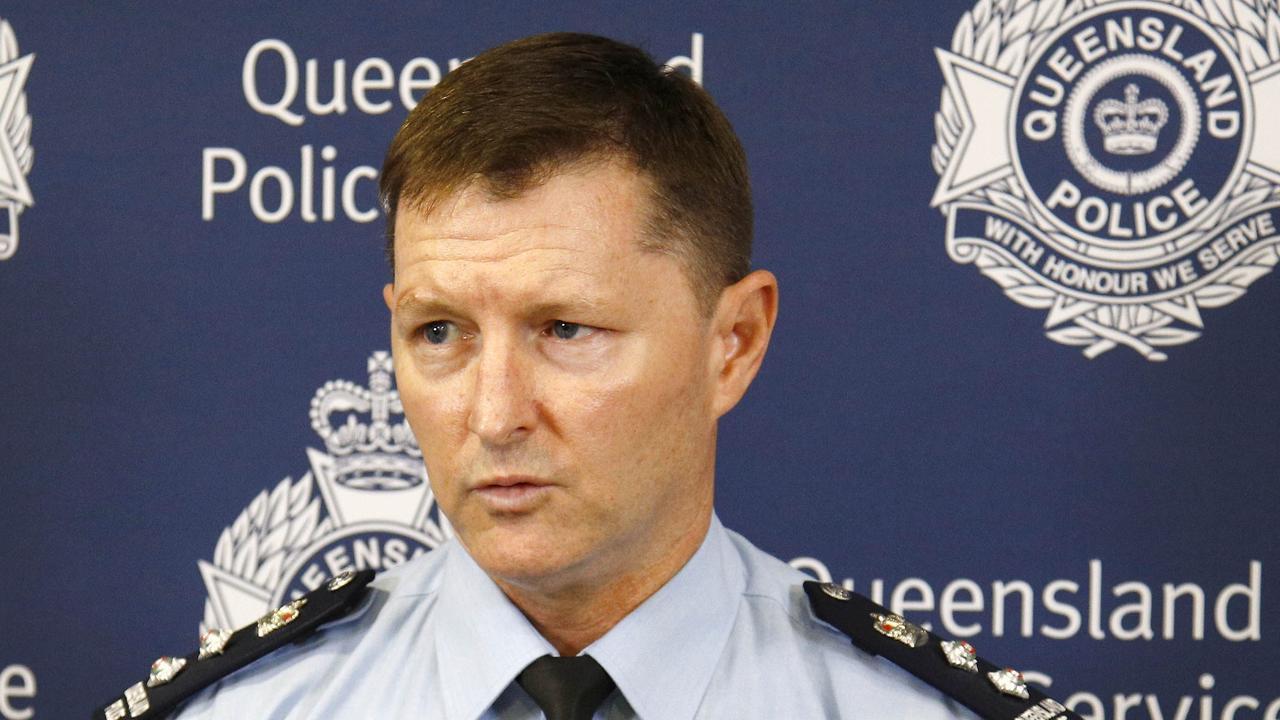 Gold Coast police chief superintendent Mark Wheeler. Picture: Tertius Pickard