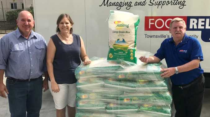 NICE RICE: Farmer's incredible donation